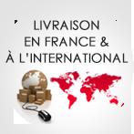 Livraison en France et en Europe
